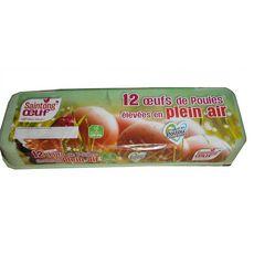 SAINTONG' OEUF Saintong' Oeuf de poules élevées en plein air x12 12 oeufs
