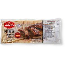 MAITRE JACQUES Maître Jacques Ribs de porc précuit à griller façon texane 1kg 2 à 3 personnes 1kg