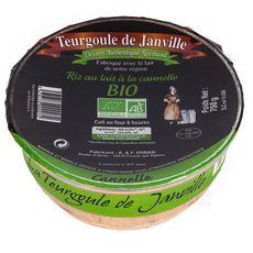 LA TEURGOULE DE JANVILLE Riz au lait à la cannelle bio 750g