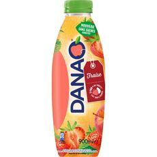 Danao DANAO Boisson lactée fraise sans sucres ajoutés
