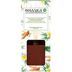 AIR WICK Botanica Bâtonnets désodorisants caraïbe bois de santal 80ml