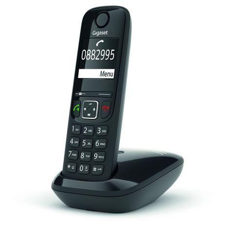 GIGASET Téléphone sans fil - AS690 Solo - Noir