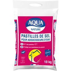 AQUA Pastilles de sel pour adoucisseurs d'eau 10kg