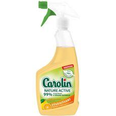 CAROLIN Nature Active Nettoyant multi surface dégraissant spray 500ml