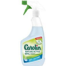 CAROLIN Nature Active spray nettoyant anti-calcaire au vinaigre 500ml