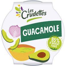 LES CRUDETTES Guacamole 95% d'avocat frais 150g