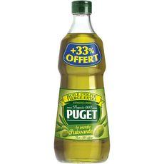PUGET La Verte Puissante Huile d'olive vierge extra 75cl +33% offert
