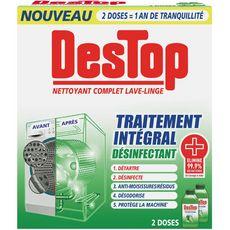 DESTOP Nettoyant et désinfectant complet lave-linge 500ml