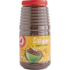 AUCHAN Chocolat en poudre granulés Cao Kido 800g