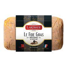 LARTIGUE Foie gras entier de canard mi-cuit au poivre noir 6-8 parts 225g