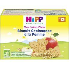 HiPP HIPP Mon goûter plaisir Biscuits croissance à la pomme bio dès 12 mois
