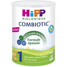 Hipp Combiotic lait 1er âge bio en poudre épaissie dès la naissance 800g