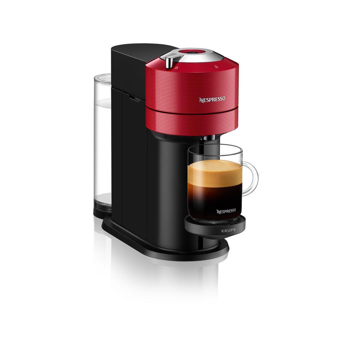 Machine à café Nespresso YY4296FD - Noir et rouge
