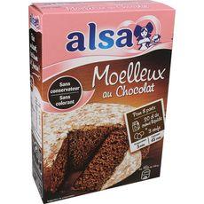 Alsa ALSA Préparation pour moelleux au chocolat