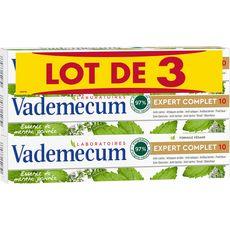 VADEMECUM Dentifrice expert complet 10 actions 3x75ml