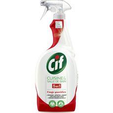 CIF Spray nettoyant 5en1 cuisine et salle de bain 750ml