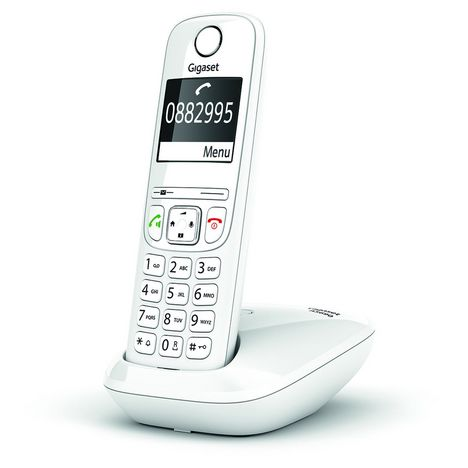 GIGASET Téléphone sans fil - AS690 Solo - Blanc