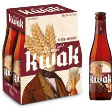 KWAK Bière blonde belge 8,4% bouteilles 6x25cl