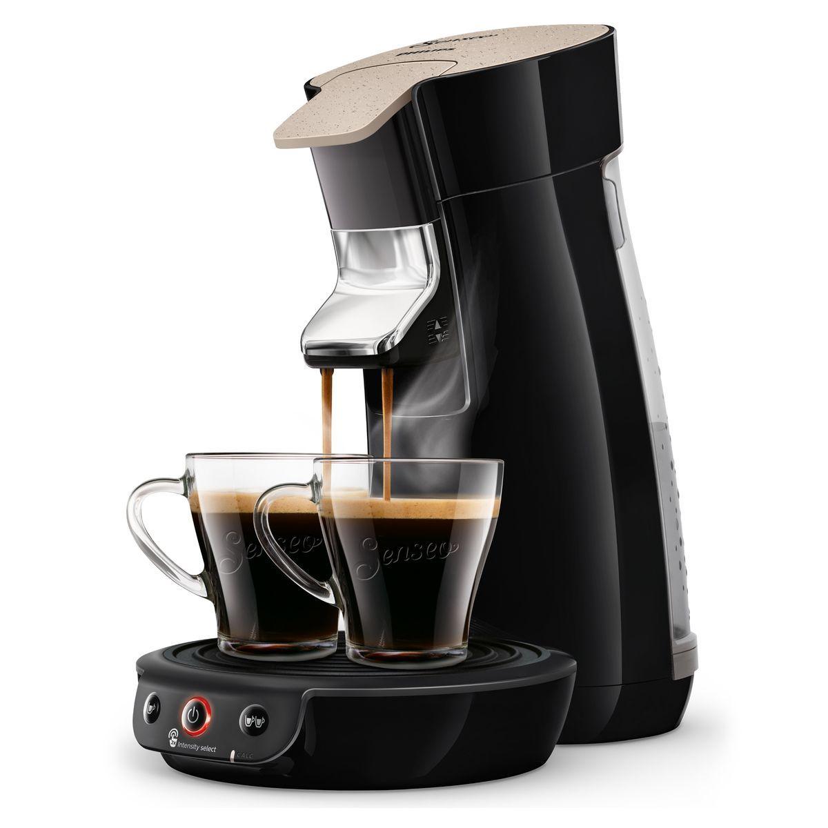 Machine à café à dosettes Senseo HD65262/36 - Noir