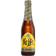 LEFFE Bière blonde 6,6% bouteille 33cl