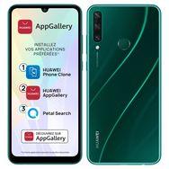 HUAWEI Smartphone Y6P 64 Go 6.3 pouces Vert 4G Double NanoSim