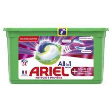 Ariel Pods Lessive capsules écodoses tout en 1 31 lavages