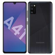 SAMSUNG Smartphone Galaxy A41 64 Go 6.1 pouces Noir 4G Double port NanoSim