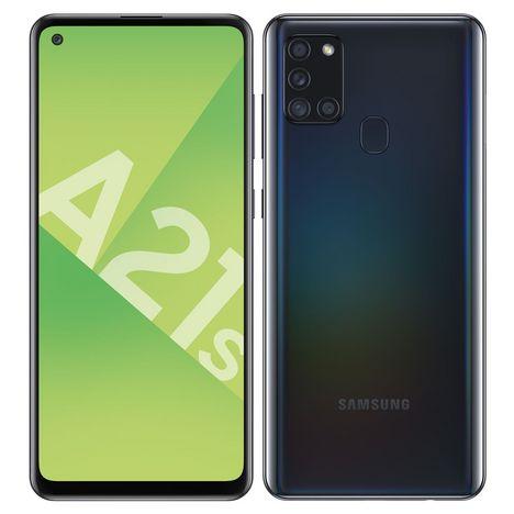 SAMSUNG Smartphone Galaxy A21s 32 Go 6.5 pouces Noir 4G Double port NanoSim