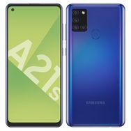 SAMSUNG Smartphone Galaxy A21s 32 Go 6.5 pouces Bleu 4G Double port NanoSim