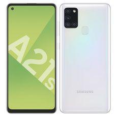 SAMSUNG Smartphone Galaxy A21s 32 Go 6.5 pouces Blanc 4G Double port NanoSim
