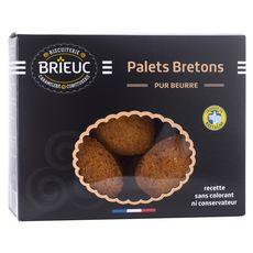 Biscuiterie Brieuc BRIEUC Biscuits palets bretons pur beurre