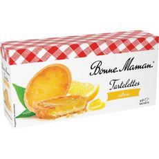 BONNE MAMAN Tartelettes au citron, sachets fraîcheur 9 sachets 125g