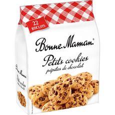 BONNE MAMAN Petits cookies aux pépites de chocolat 22 biscuits 250g