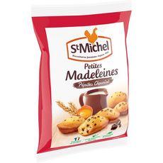 ST MICHEL Petites madeleines aux pépites de chocolat sans huile de palme 400g