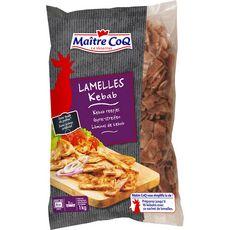 MAITRE COQ Lamelles de volaille et veau pour kebab 1kg