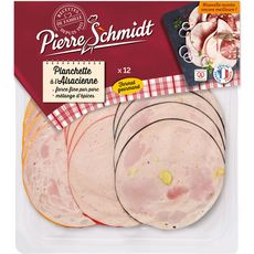 PIERRE SCHMIDT Assortiment de saucisses d'Alsace 12 tranches 200g