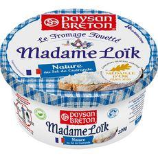 MADAME LOIK Fromage fouetté frais nature et sel de Guérande 320g