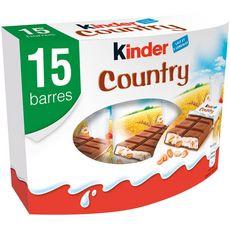 Kinder KINDER Country barres chocolatées
