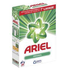 ARIEL Lessive poudre regulier 39 lavages 2,72kg