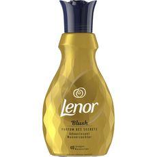 LENOR Adoucissant blush parfum des secrets 40 lavages 1l