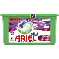 ARIEL Pods Lessive capsules écodoses tout en 1 31 lavages 31 capsules