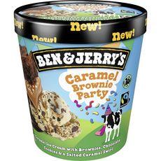 Ben & Jerry's BEN & JERRY'S Pot de crème glacée caramel brownie
