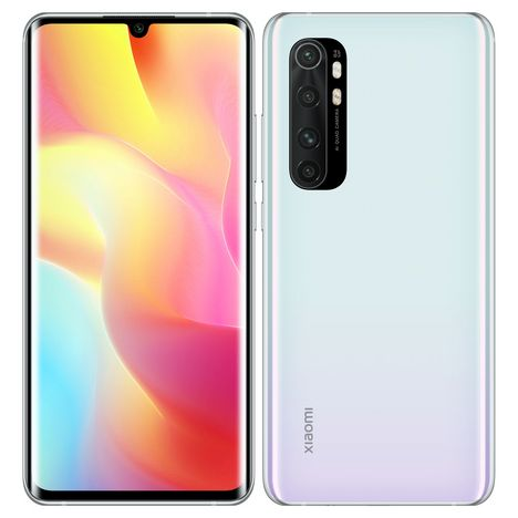 XIAOMI Smartphone Mi Note 10 Lite 128 Go 6.47 pouces Blanc 4G Double NanoSim