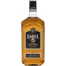 Label 5 LABEL 5 Scotch whisky classic black 40%