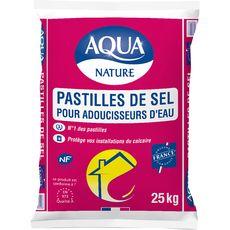 AQUA Pastilles de sel pour adoucisseur d'eau 25kg
