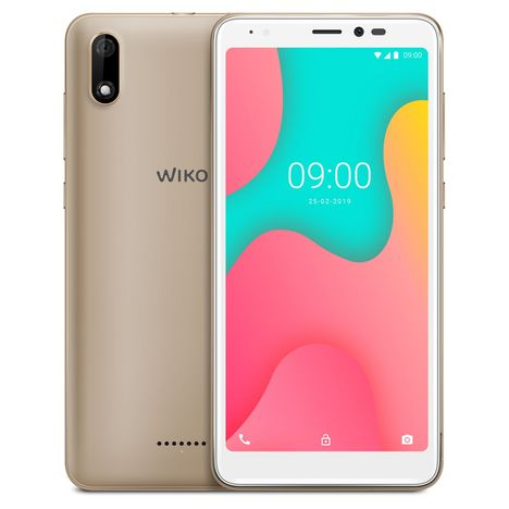 WIKO Smartphone Y60 LS 16 Go 5.45 pouces Or 4G MicroSim + NanoSim