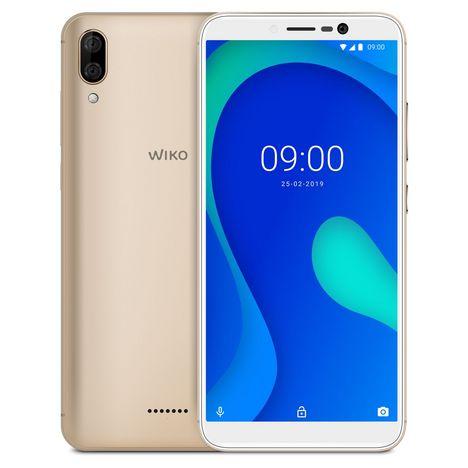 WIKO Smartphone Y80 LS 16 Go 5.99 pouces Or 4G MicroSim+NanoSim