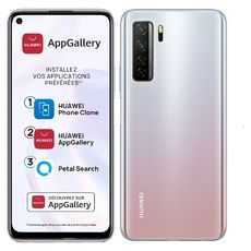 HUAWEI Smartphone P40 Lite 128 Go 6.5 pouces Silver 5G Double NanoSim
