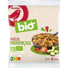 AUCHAN BIO Poêlée provençale 3 portions 600g