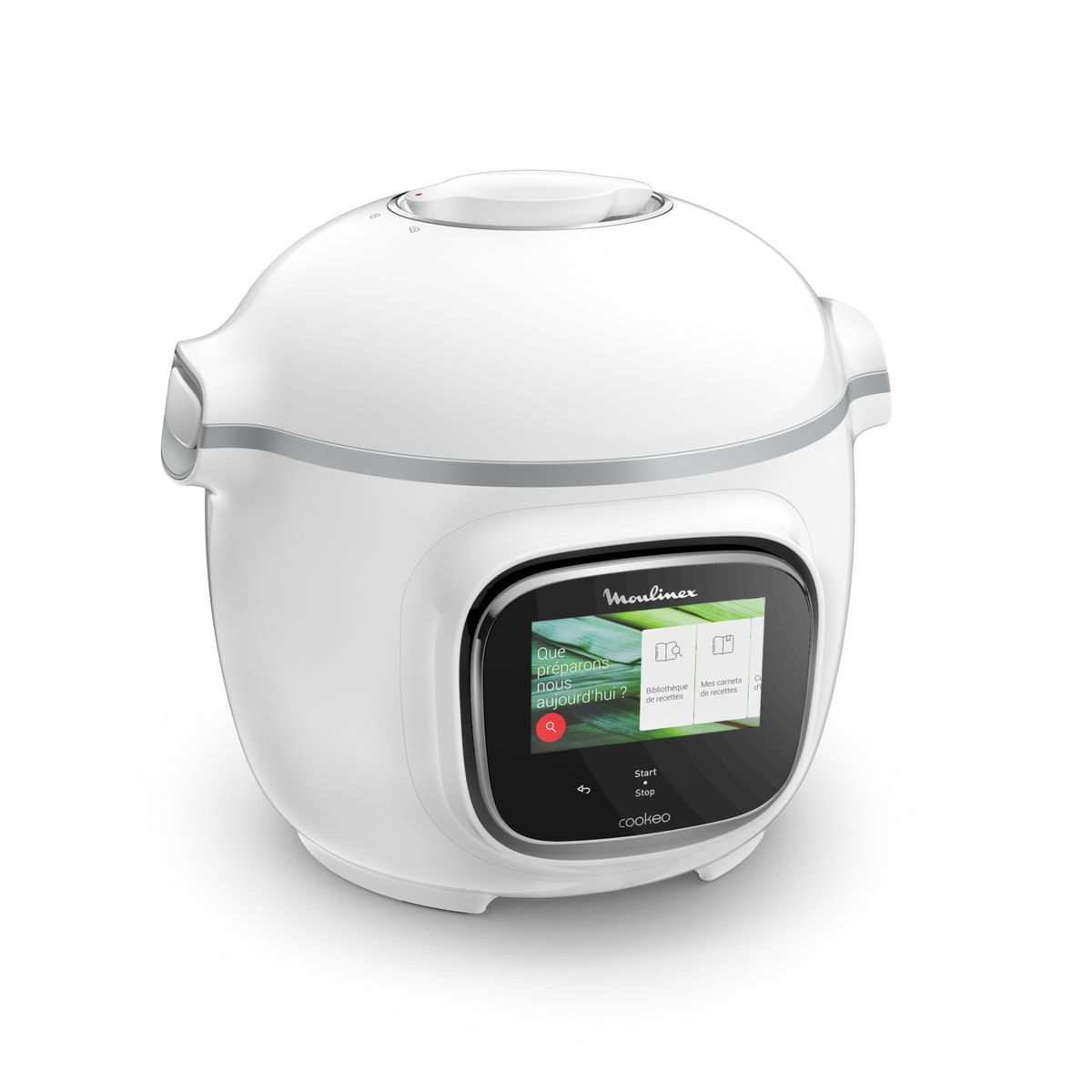 Multicuiseur intelligent COOKEO TOUCH Blanc 250 recettes - CE901100